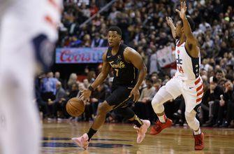 Raptors score season-high 140 points in rout of Wizards