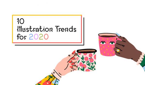 10 Illustration Trends for 2020