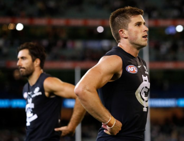 Blues veteran sent for scans after suffering ankle injury at training