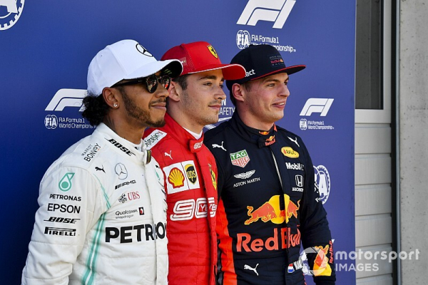 """Horner eager to see Hamilton take on F1's latest talent """"wave"""""""