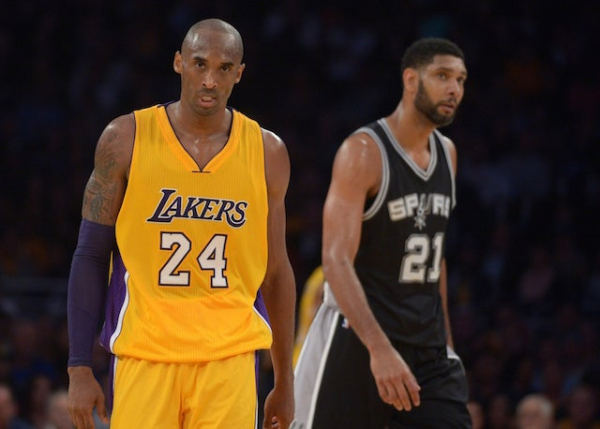 Kobe Bryant Believes Lakers Could Have Won 10 Championships Without Tim Duncan, Spurs