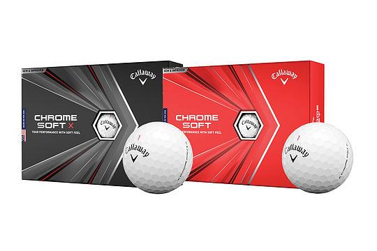Callaway debuts next-gen Chrome Soft, Soft X balls