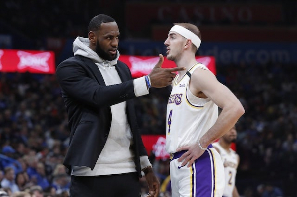 Lakers News: Alex Caruso Discusses Playing Alongside LeBron James