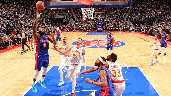 Report: Hawks no longer engaging Pistons on Andre Drummond trade