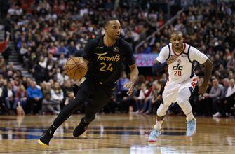 Gasol makes six 3-pointers, Raptors beat Wizards 140-111