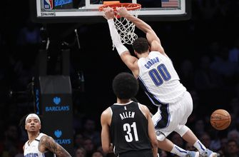 Magic rally to beat Nets 115-113, move closer to 7th place
