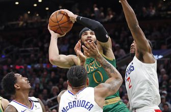 Tatum scores 39, Celtics hold off Clippers 141-133 in 2OT