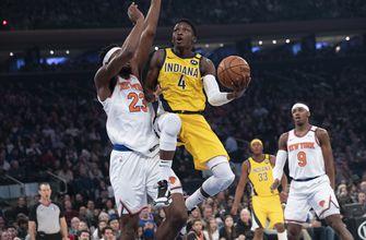Pacers beat Knicks 106-98 in return from All-Star break