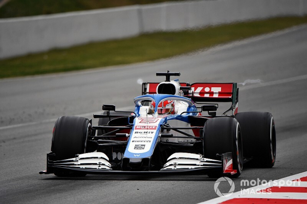 """Russell: Williams """"still the slowest car"""" in 2020"""