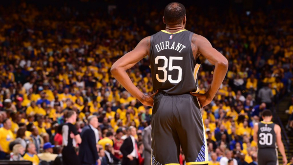 Kevin Durant: Media tried to separate Warriors, 'didn't do that with LeBron and D Wade and Bosh'