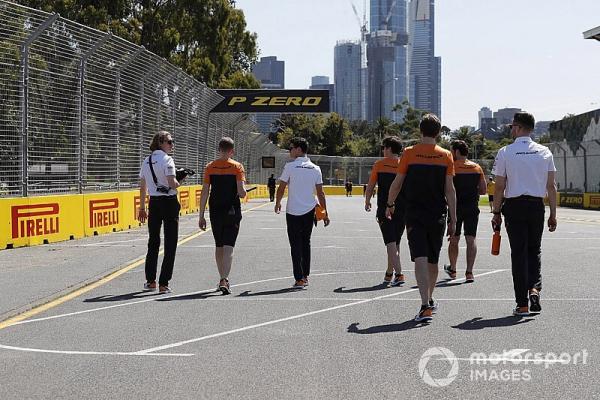 McLaren F1 staff finally home after quarantine