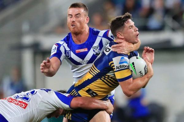 Parramatta Eels claim gritty NRL win over Canterbury Bulldogs in season opener