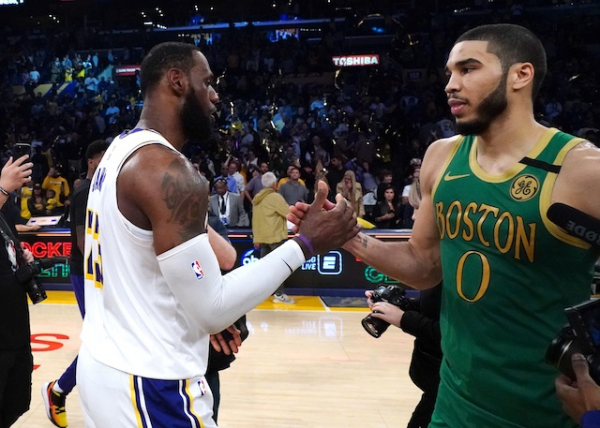 Jayson Tatum Names Four Lakers On NBA All-Time Starting Five