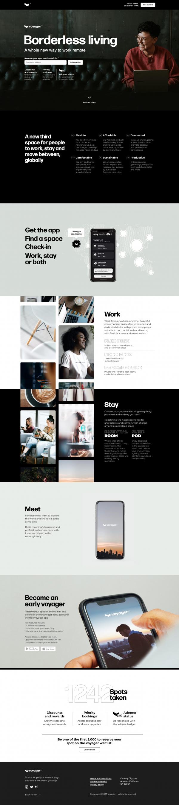 Website Inspiration: Voyager