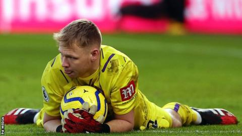 Aaron Ramsdale: Bournemouth keeper tested positive for coronavirus