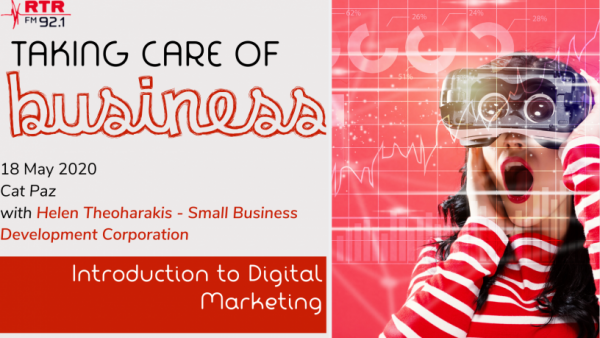 Taking Care of Business: Introduction to Digital Marketing