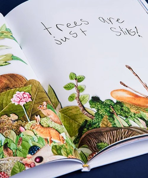 toufic beyhum's 'book about nothing' pairs professional illustrations with his sons' musings
