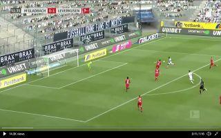 Video: Liverpool target Marcus Thuram scores superb half-volley for Monchengladbach