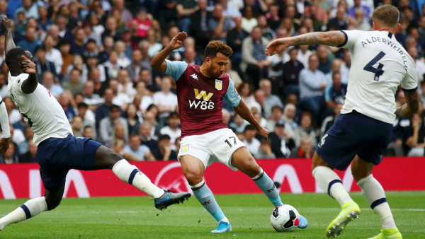 Aston Villa's Trezeguet thankful for fans' support