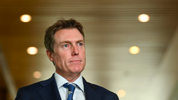 Attorney-General Christian Porter calls time on WA's border