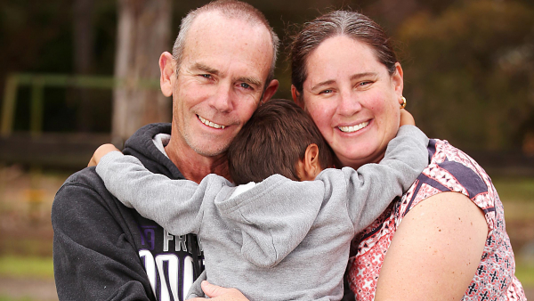 WA Day hero: Foster parents Steve and Stacey Bourke are a couple who just want to help kids