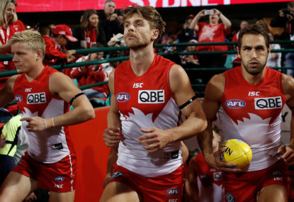 The ten players your team can least afford to lose: Sydney Swans