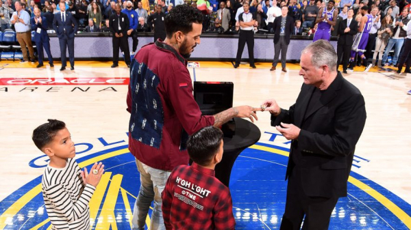 Matt Barnes doesn't refer to himself as NBA championship, doesn't have ring from 2017 Warriors