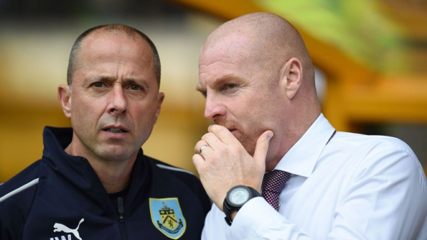 Burnley confirm Dyche assistant Woan tests positive