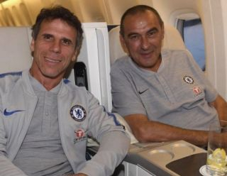 'They got bored' – Gianfranco Zola names the two Chelsea players who didn't enjoy life under Maurizio Sarri