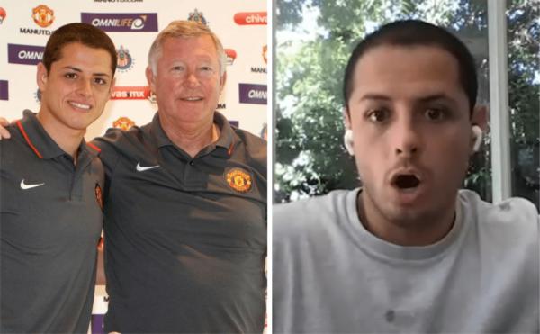 Javier Hernandez reveals conversation with Sir Alex Ferguson before leaving Manchester United