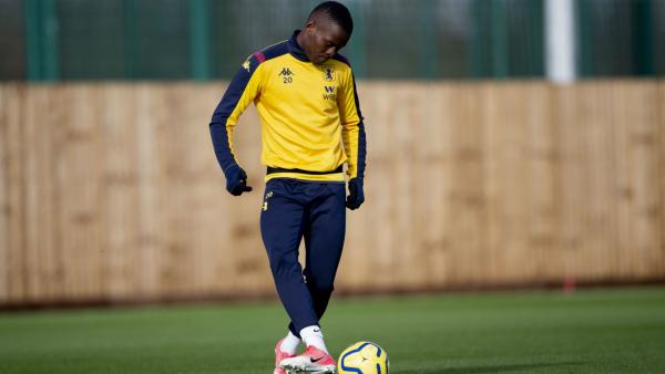 Samatta: Tanzania captain resumes training at Aston Villa