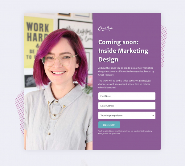 Website Inspiration: Inside Marketing Design
