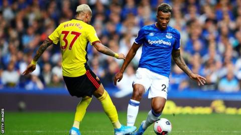 Jean-Philippe Gbamin: Everton midfielder out for six months after training injury