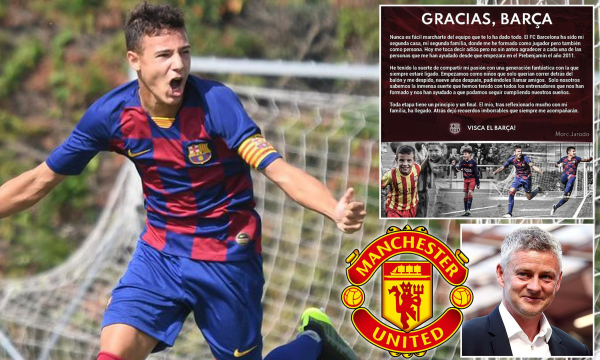 Manchester United Close to Signing Barcelona Wonderkid