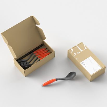 Eyra kitchen utensils by Eyra and Sebastian Conran Associates