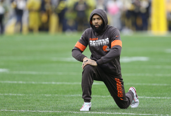 Odell Beckham Jr. shoots down Patriots trade speculation, reiterates he has 'unfinished business' with Browns
