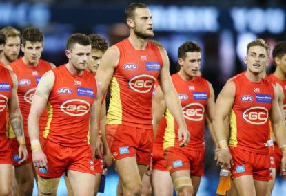 AFL top 100: Round 2, Gold Coast versus West Coast