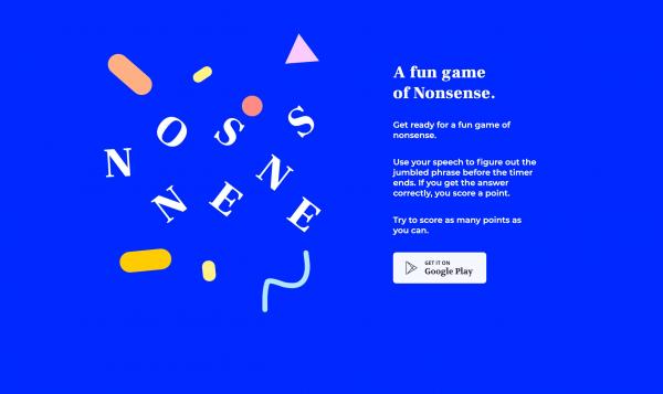 Website Inspiration: Nonsense