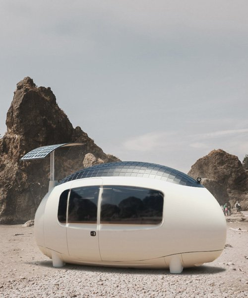 SPACE by ecocapsule is an affordable micro-home designed for off-grid adventures
