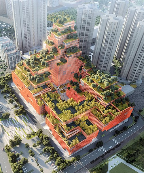 stefano boeri's china office to build tree-filled rehabilitation center in shenzhen
