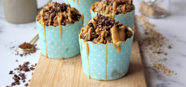 Coffee Crumble Muffins