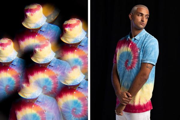 Fred Perry x size? unveil acid house-inspired tie-dye collection