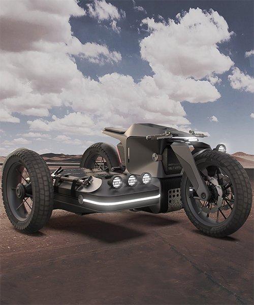 iago valino conceptualizes BMW motorrad x ESMC off-road e-motorcycle