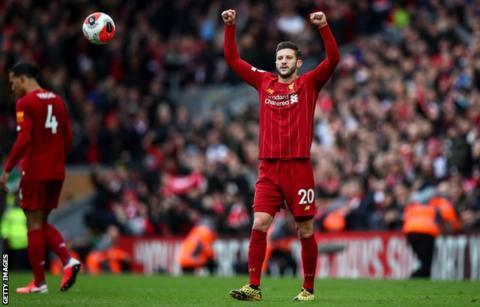 Adam Lallana: Brighton sign Liverpool midfielder