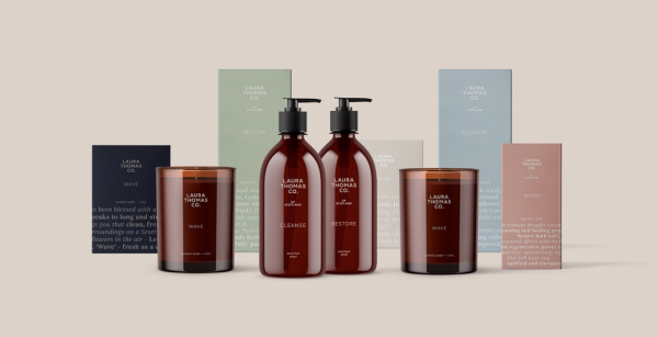 Laura Thomas Co. Packaging