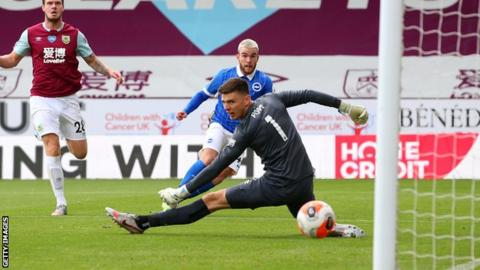 Burnley 1-2 Brighton: Yves Bissouma's stunning strike sees off Clarets