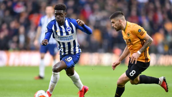 Bissouma scores first Premier League goal for Brighton vs Burnley