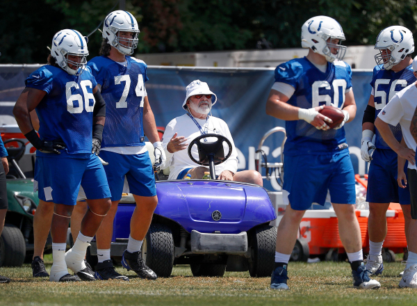 Colts offensive line coach Howard Mudd in Seattle ICU after motorcycle accident
