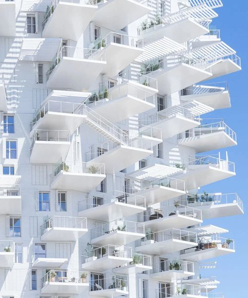 sou fujimoto's 'arbre blanc' tower in montpellier photographed by iwan baan