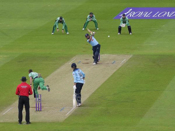 Jonny Bairstow drives England to four-wicket ODI win over Ireland